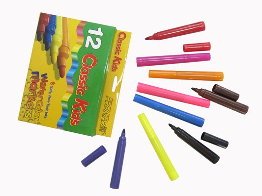 fine line drawing graphite book writing kids color pen set