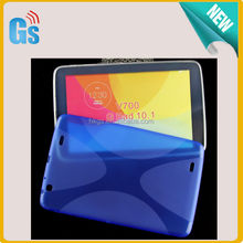 For LG G Pad 10.1 V700 Case Cover X Line Style Flexible TPU