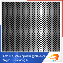 galvanized steel sheet 4mm round hole shape perforated metal