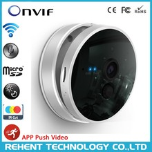 Indoor Wireless 128G TF Card HD Smart Home Network Security PIR IP Camera Night Vision 10M