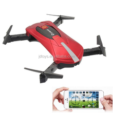 6 Channel WIFI headless JD-18 Foldable selfie RC Drone with 480p WIFI camera RC Quadcopter toys JY018
