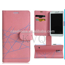 Multicolored Mobile Phone Leather Case for HTC butterfly s