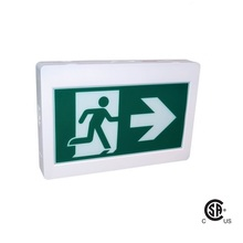 Canada running man led exit sign CSA Approved Emergency sign