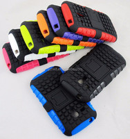 TPU+PC compatible stand combo case for Samsung Galaxy s3 mini i8190