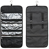 Rolling folding Travel Toiletry Bag Polyester Organizer Cosmetic Case Makeup Beauty Bag Hanging