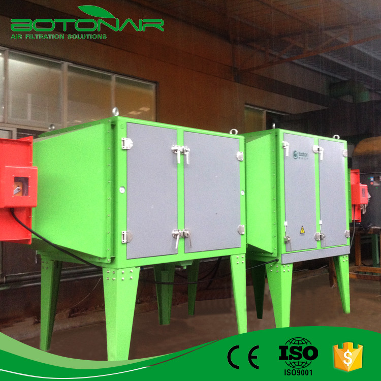 Industrial Electrostatic Precipitator for Flex Banners Industry for Oil Mist Filtration