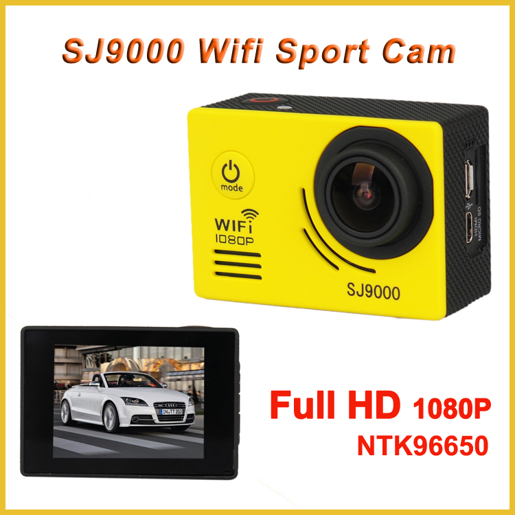 HD Outdoor Action Sports Camera SJ9000 Wifi Action Camcorder Bike Camera with Full hd 1080P user manual sport dv