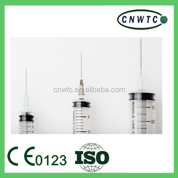 disposable CE ISO syringe 5cc