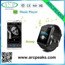 the best Smart Watch U8 Phone Mate Bluetooth MTK6260 For Android smartphone