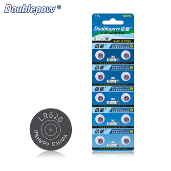 Quality 10pcs LR626 1.5V Alkaline Button Cell Battery Coin AG4, LR626, 377, 177