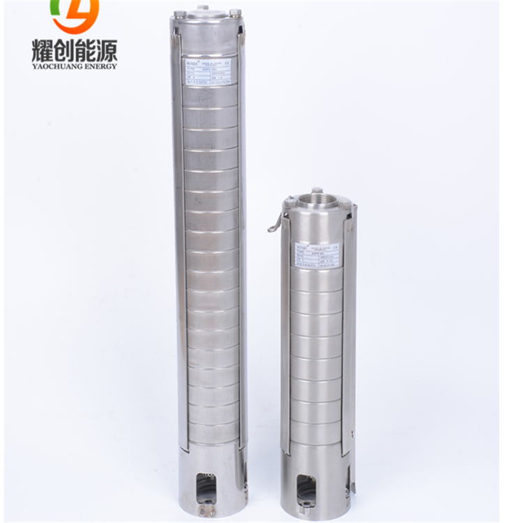 1hp to 10hp AC solar submersible pump