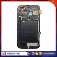 New arrival n7100 lcd touch screen for samsung galaxy note 2 , for samsung galaxy note 2 n7100 lcd with digitizer replacement
