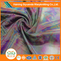 Wholesale China gold print spandex fabric for garment or home textile