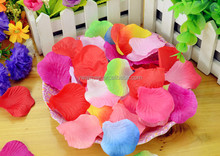 Wholesale wedding real touch paper rose petals garlands(AM-FP-021)