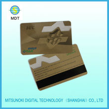 customized transparent pvc membership cards