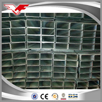 manufacturer hot dipped and pre-galvanized square & rectangular steel tube in china