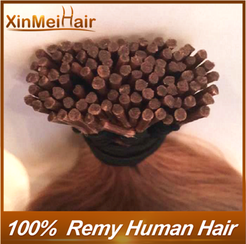 Remy Human Hair 1g I Tip stick Cold fusion Keratin Tip hair extensions