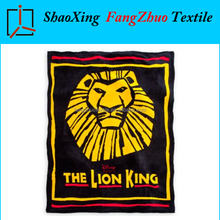 super soft and cozy micro coral fleece blanket cartoon the lion king