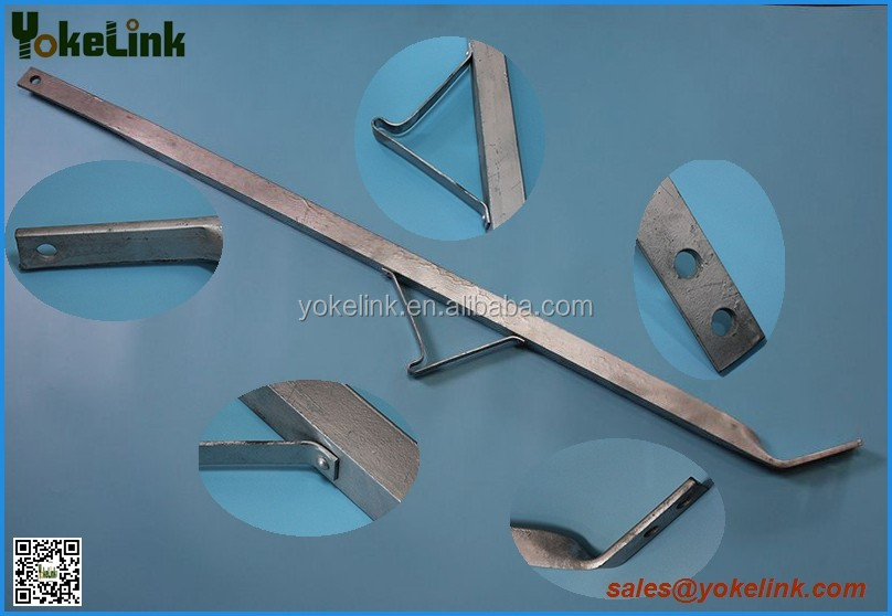 Carbon steel Galvanized crossarm braces