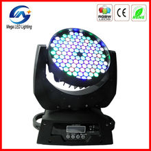 RGBW moving head high lumen 108pcs x 3w led dj booth