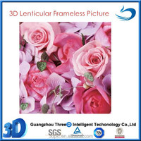 40*40CM Beautiful Flower Art 3D Picture For Customized Gifts