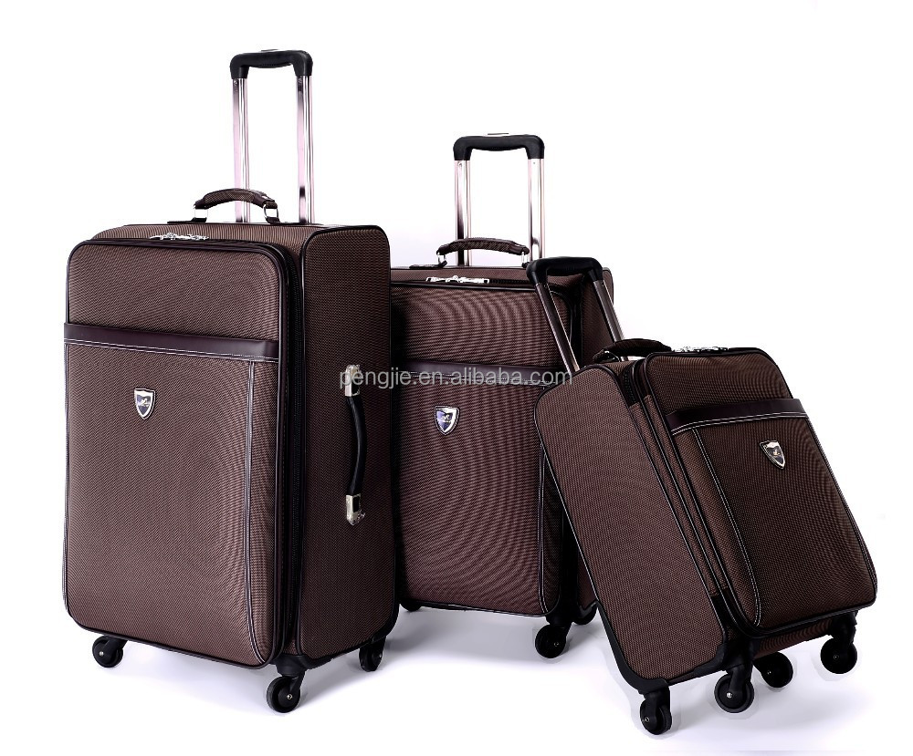 2015 newest 3pcs trolley popular EVA trolley luggage bag set