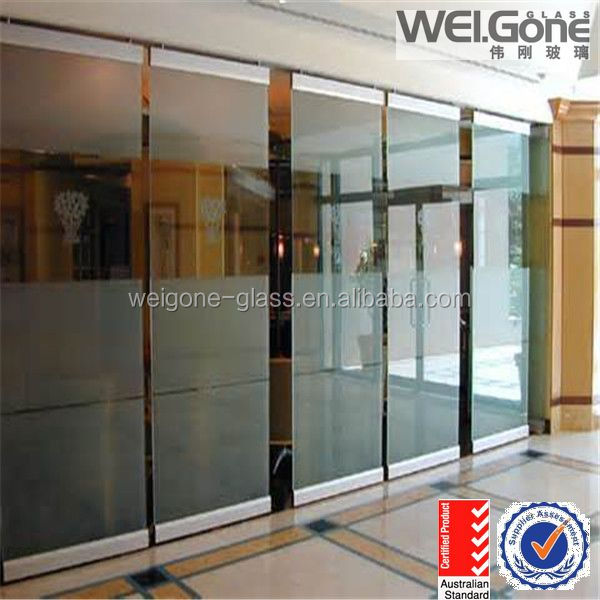 12mm thk clear tempered glass price
