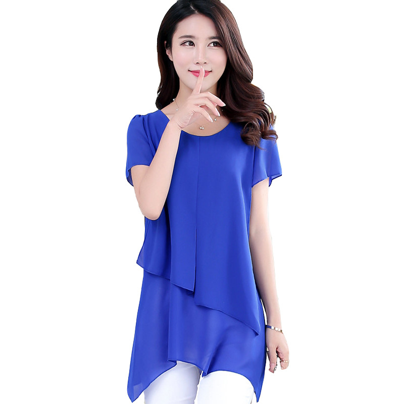 Latest Two Piece Chiffon Design Casual Kurta Ladies Tops From Alibaba Express