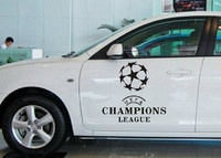 The European Champions Car Stickers