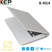 New arrivals 2017 K-N14 14.1 inch laptop portable Cherrytrail Z8300 32GB pc notebook computer KMAX