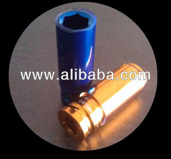 "1/2"" Drive Wheel Socket with Sleeve"