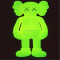 Custom kaws glow in the dark, hot sell toys glow in the dark vinyl kaws
