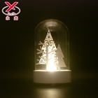 Christmas clear glass ornaments glass bottle decoration