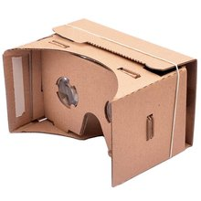 For IPhone Samsung Google Nexus 6 DIY Google Paperboard Mobile Phone Virtual Reality 3D Glasses