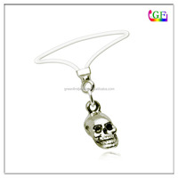 Sultry Skull Stretch Toe Ring