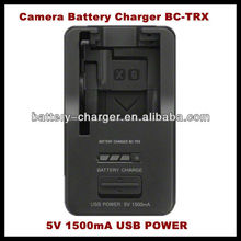 BC-TRX 2012 lastest camera battery charger for Sony Lithium ION X