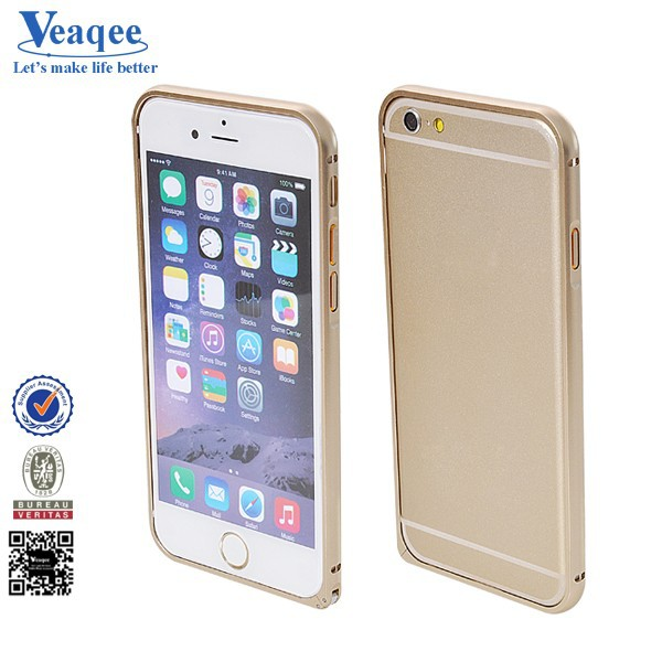 Veaqee china manufacturer latest hard metal bumper mobile phone cover for iphone 6