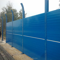 Acoustic Barrier Wall/Highway Acoustic Barrier Wall/Acoustic Fence Noise Barrier ( ISO9001 manufacturer )