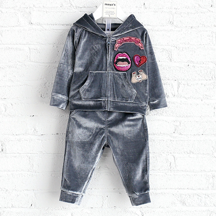 Strict quality fall design for boys online clothes kids coat set