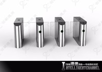 Waterproof and Dust-Proof Access Control Waist Height Sliding Turnstile System
