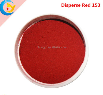 2018 Disperse dyes for textile fabric disperse red 153