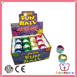 ICTI factory Eco-friendly Promotional shiny juggling ball