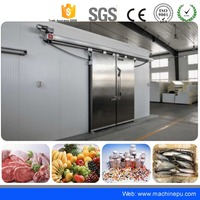 Easy assembly cold room house panel door