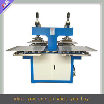 JY-B04 double-head jeans labels embossing machine