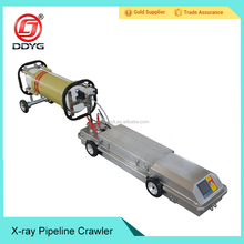 Industrial NDT x-ray oil pipeline equipment crawler 100A