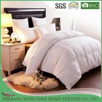 Elegant Comfort 100% Cotton Down Alternative Comforter Duvet Insert, Full/Queen, White