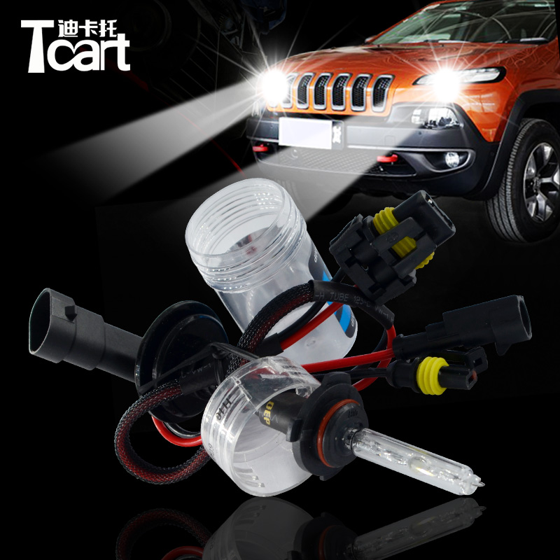 Tcart Universal DC 12V 5000K 6000K <strong>8000K</strong> Car Headlights Lamp Xenon H7 9145 <strong>H10</strong> 55W <strong>HID</strong> <strong>Bulb</strong>