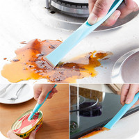 Creative Kitchen Bathroom Stove Dirt Decontamination Gap double-end Scraping Stains Opener Cleaning Tool