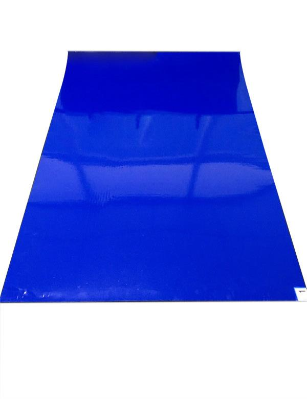 Anti-slip disposable sticky mat cleanroom using