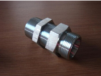 Hydraulic fitting straight bulkhead fittings S Series